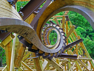 Outlaw Run © Silver Dollar City