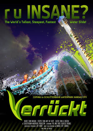Verrueckt © Schlitterbahn Waterparks and Resort