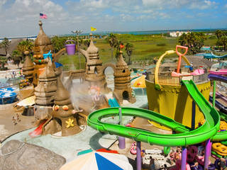 Der Wasserpark Schlitterbahn Beach Waterpark in South Padre Island, Texas © Schlitterbahn Waterparks