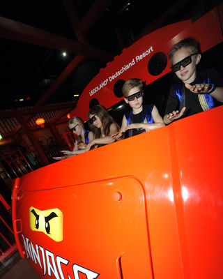 Lego Ninjago the Ride © LEGOLAND Deutschland