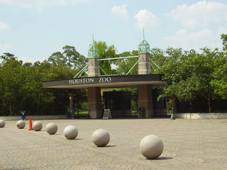 Eingang zum Houston Zoo in Houston, Texas © WhisperToMe