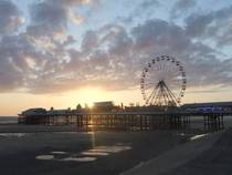 Das Central Pier Blackpool in Blackpool