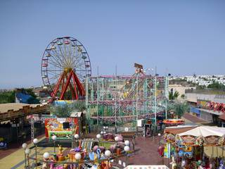 Der Freizeitpark Holiday World in Maspalomas auf Gran Canaria
