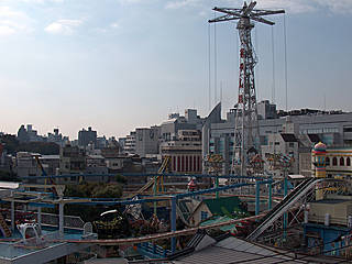Hanayashiki Amusement Park  © Harry Vale