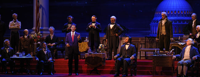 Hall of Presidents © Disney, Foto: Gene Duncan